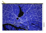 Hamburg Street Map - Hamburg Germany Road Map Art On Colored Bac Carry-all Pouch