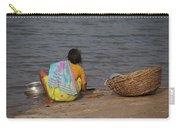 Hampi River Scenes Carry-all Pouch