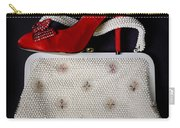 Handbag With Stiletto Carry-all Pouch