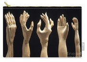 Hands Of Wood Puppets Carry-all Pouch