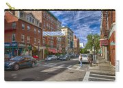 Hanover St. Carry-all Pouch by Joann Vitali