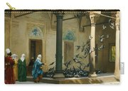 Harem Women Feeding Pigeons In A Courtyard Carry-all Pouch