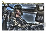Hdr Image Of A Pilot Equipped Carry-all Pouch