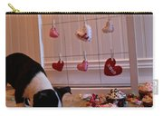 Hearts On The Line Carry-all Pouch