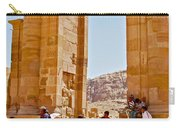 Hellenistic Gateway In Petra-jordan  Carry-all Pouch