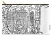 Henry Viii (1491-1547) Carry-all Pouch