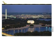 High Angle View Of A City, Washington Carry-all Pouch