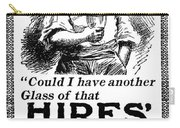 Hires' Root Beer Ad, 1895 Carry-all Pouch