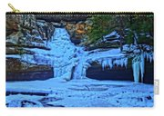 Hocking Hills State Park In Winter Carry-all Pouch
