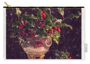 Holly And Berries Carry-all Pouch