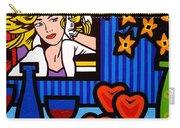 Homage To Lichtenstein Carry-all Pouch