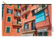 homes and promenade in Camogli Carry-all Pouch