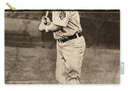 Honus Wagner (1874-1955) Carry-all Pouch