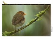 Hooded Antpitta Carry-all Pouch