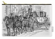 Horse-drawn Coach Carry-all Pouch
