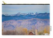 Hot Air Balloon Rocky Mountain County View Carry-all Pouch