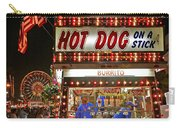 Hot Dog On A Stick Carry-all Pouch
