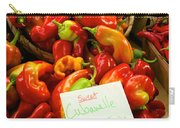 Hot Peppers Carry-all Pouch