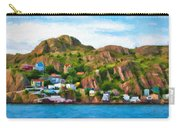 Houses On Hillside Carry-all Pouch