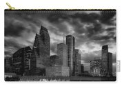 Houston At Twilight Carry-all Pouch