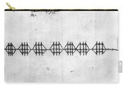 Hudson River: Chain, C1778 Carry-all Pouch