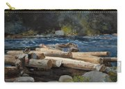 Hudson River Carry-all Pouch by Winslow Homer
