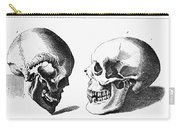 Human Skull Carry-all Pouch