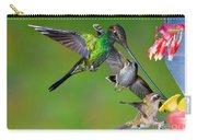 Hummingbirds At Feeder Carry-all Pouch
