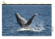 Humpback Whale Breaching Maui Carry-all Pouch