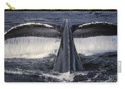 Humpback Whale Fluke Carry-all Pouch