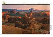 Hunts Mesa In Monument Valley Carry-all Pouch
