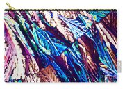 Hydroquinone Crystals In Polarized Light Carry-all Pouch