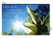 1 I Am With You Always Carry-all Pouch