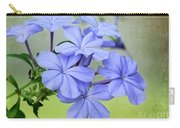 I Love Blue Flowers Carry-all Pouch