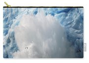Ice Falling Off Glacier Alaska Carry-all Pouch