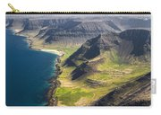 Iceland Plateau Mountains Carry-all Pouch