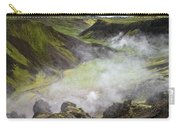 Iceland Steam Valley Carry-all Pouch