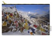 Icy Prayer Flags Himalaya Carry-all Pouch