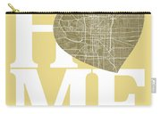 Indianapolis Street Map Home Heart - Indianapolis Indiana Road M Carry-all Pouch