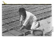 Indians Making Adobe Bricks Carry-all Pouch