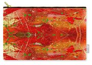 Golden Abstract Painting  Carry-all Pouch