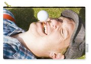 Insane Sport Nut Crazy About Golf Carry-all Pouch