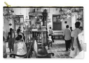 Inside The Historic Jewish Synagogue In Cochin Carry-all Pouch