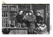 Ireland: Vaccination, 1880 Carry-all Pouch