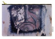 Iron Eyes Cody Homage The Big Trail 1930 The Crying Indian Black Canyon Arizona 2004 Carry-all Pouch