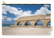 Israel Caesarea Aqueduct  Carry-all Pouch