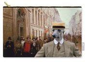 Italian Greyhound Art Canvas Print Carry-all Pouch