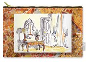 Italy Sketches Venice Hotel Carry-all Pouch