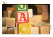 Jack - Alphabet Blocks Carry-all Pouch