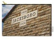 Jacksboro Texas Carry-all Pouch